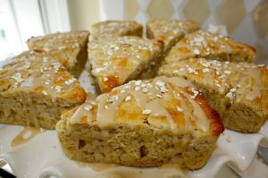 Maple Oatmeal Scones