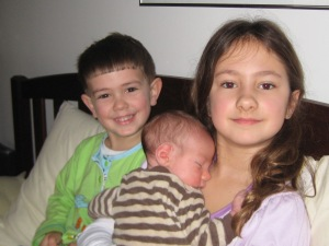 Our three beautiful children, Lilliana, Lucas and Julian