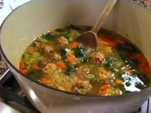 italian wed soup